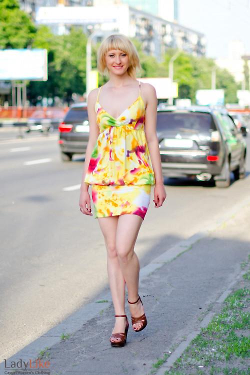 Сарафан летний на бретелях Деловая женская одежда