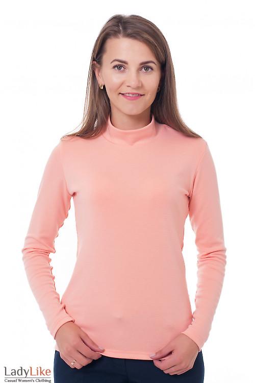 Гольф персиковый Деловая женская одежда фото