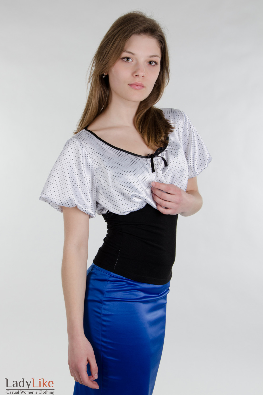 Блузки Из Трикотажа 2014 Фото В Омске