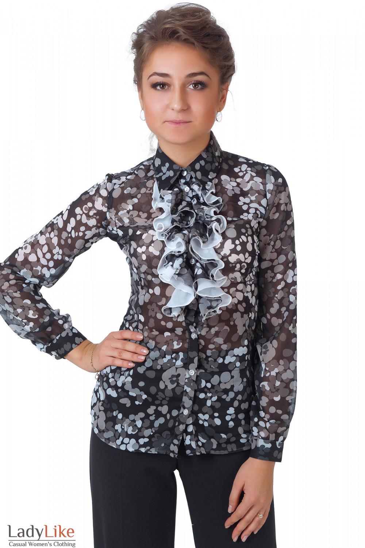 Блузка С Рюшами Фото В Москве