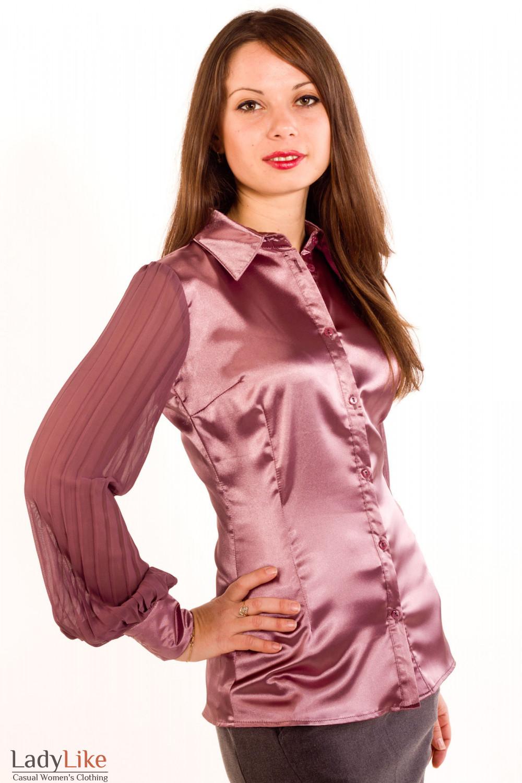 Купить Атласные Блузки В Москве
