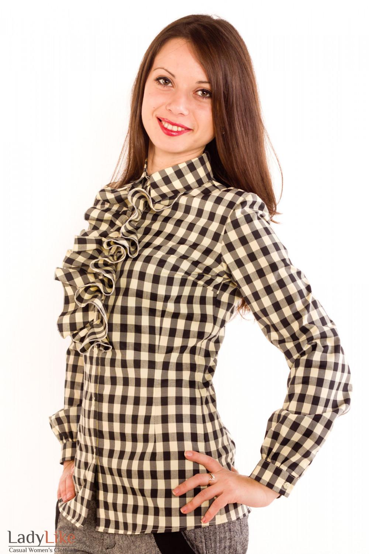 Блузка В Клеточку В Волгограде