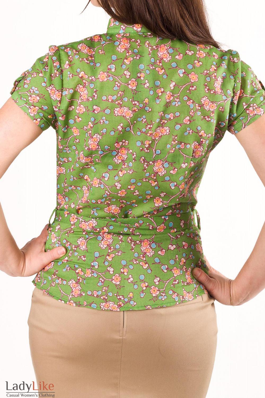 Блузки В Мелкий Цветочек Купить