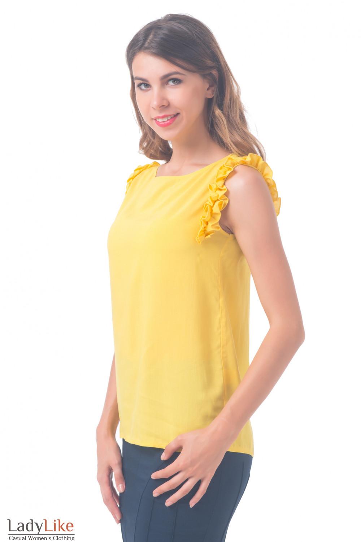 Блузка Без Рукавов Фото В Самаре