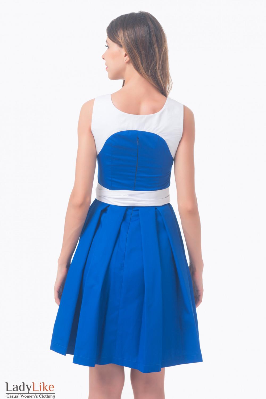 Синее С Черным Платье С Доставкой
