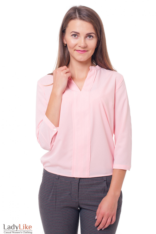 Блузка Персикового Цвета С Доставкой