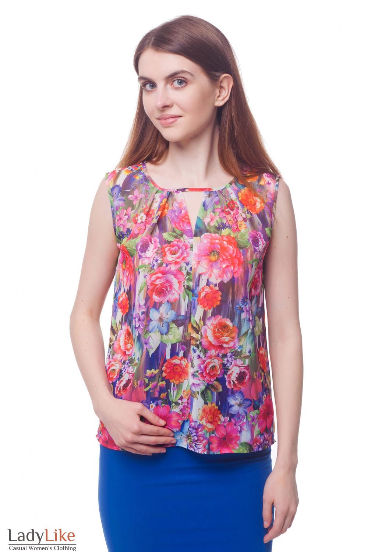 Блузки Из Цветного Шифона