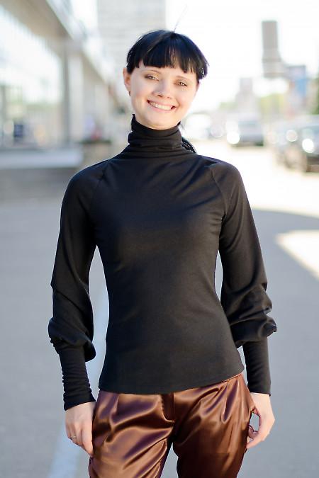 Гольф черный Деловая женская одежда