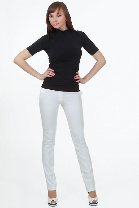 Брюки белые Демо Деловая женская одежда
