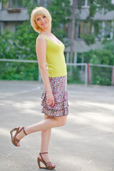 Юбка летняя разноцветная Деловая женская одежда