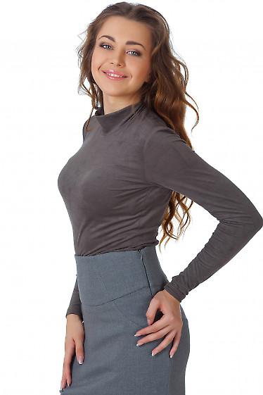 Фото Гольф хаки из спандекса Деловая женская одежда