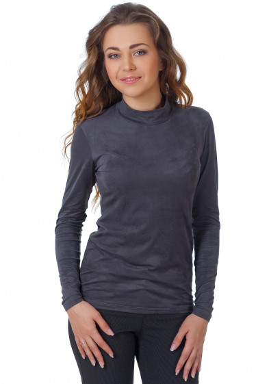 Фото Гольф темно-серый из спандекса Деловая женская одежда