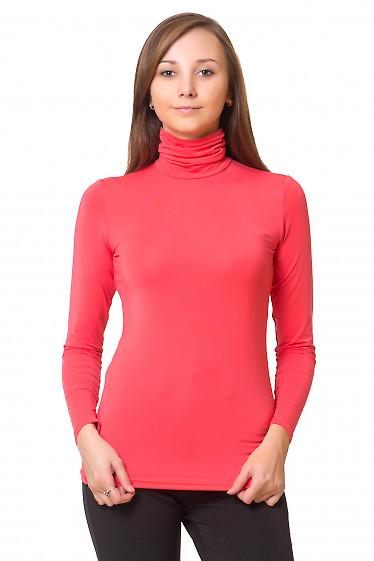 Гольф классический коралловый Деловая женская одежда