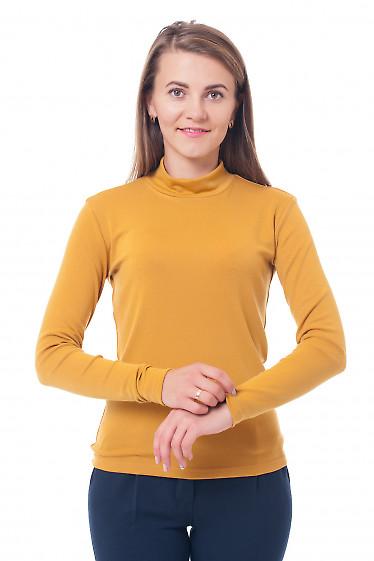 Гольф горчичный Деловая женская одежда фото