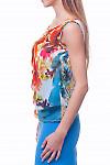 Купить легкий шифоновый топ Деловая женская одежда