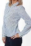 Купить блузку в полоску Деловая женская одежда