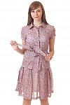 Купить летнюю блузку из тонкого батиста Деловая женская одежда