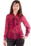 Купить блузку с бантом Деловая женская одежда