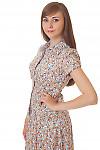 Купить летнюю блузку с коротким рукавом Деловая женская одежда