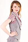 Фото Жилетка офисная Деловая женская одежда