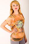 Фото Блузка без рукавов цветная Деловая женская одежда