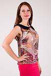 Фото Блузка с воротником Деловая женская одежда