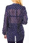 Фото Блузка в горошек Деловая женская одежда