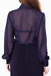 ФотоБлузка синяя  Деловая женская одежда