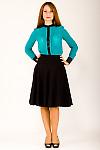Фото Блузка со стойкой Деловая женская одежда