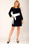 Фото Платье темно-синее Деловая женская одежда