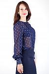 Фото Блузка из шифона Деловая женская одежда