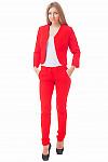 Купить красный жакет Деловая женская одежда