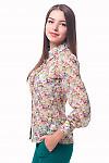 Купить блузку из шифона в розыДеловая женская одежда
