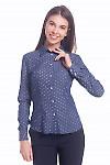 Женская джинсовая рубашка Деловая женская одежда