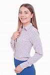 Блузка с цветочным принтом Деловая женская одежда фото