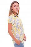 Купить блузку из штапеля Деловая женская одежда фото