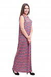 Купить легкое трикотажное платье в пол Деловая женская одежда фото