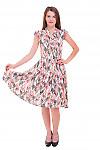 Купить платье миди штапельное в ландыши  Деловая женская одежда фото
