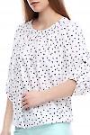 Блузка на резинке Деловая женская одежда фото