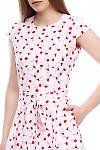Платье под пояс Деловая женская одежда фото
