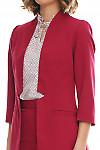 Фрагмент млинового жакета Деловая женская одежда фото